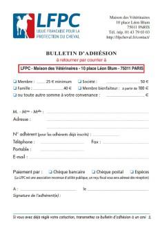 Visuel bulletin adhésion LFPC
